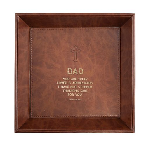 Just For Him – Dad Ephesians 1:16 – Valet Tray