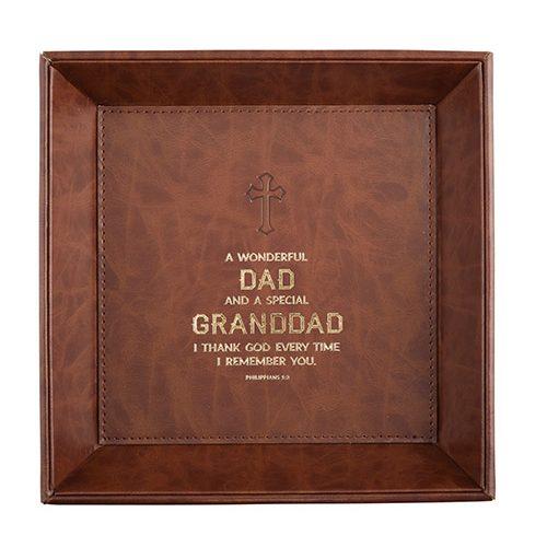Just for Him – Granddad Philippians 1:3 – Valet Tray