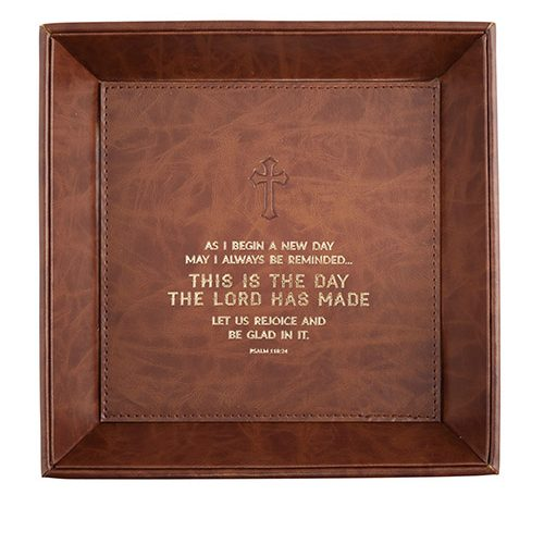 Just For Him – This Is the Day Psalms 118:24 – Valet Tray
